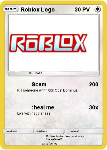 Coloriage En Ligne Roblox.Pokemon Roblox Logo 3 3 Scam Ma Carte Pokemon