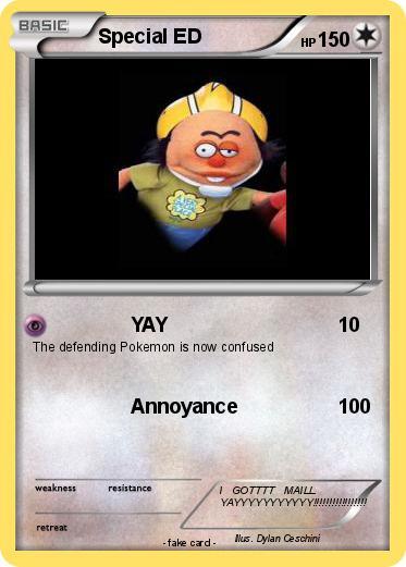 Pokemon Special Ed 4 4 Yay My Pokemon Card