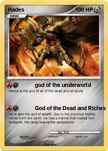 Pokmon Hades 486 486 God Of The Underworld My Pokemon Card