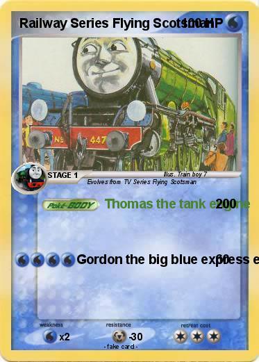 Car Express Chattanooga >> Pokémon Railway Series Flying Scotsman - Thomas the tank engine - My Pokemon Card