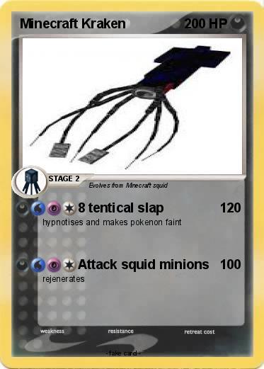 Pokemon Minecraft Kraken 1 1