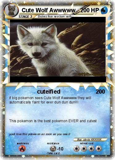Pokemon Cute Wolf Awwwww