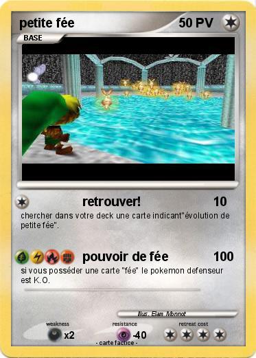 Pok mon petite fee retrouver ma carte pok mon - Carte pokemon fee ...