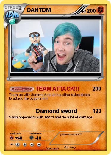 dantdm pokemon trading cards