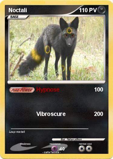 Pok mon noctali 417 417 hypnose ma carte pok mon - Pokemon noctali ...