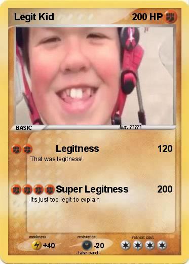 Pokémon Legit Kid 3 3