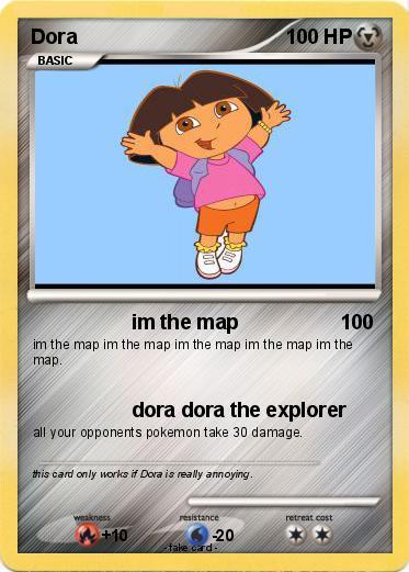 Pokémon Dora 798 798 - im the map - My Pokemon Card on fiesta dora the explorer map, cartoon dora the explorer map, dora's map,