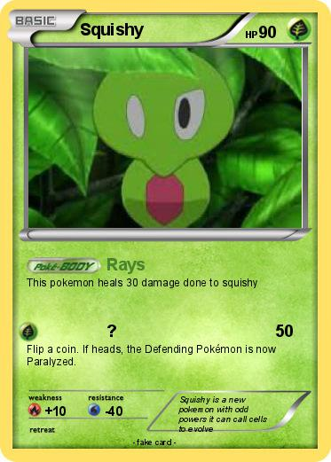 Pokemon Squishy 65 65 - Rays - My Pokemon Card