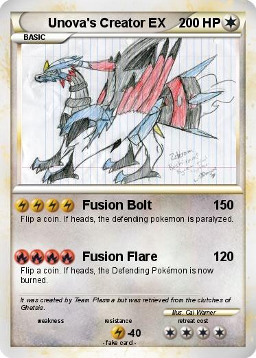 Pokemon Unovas Creator EX
