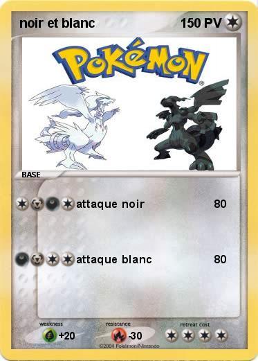Pok mon noir et blanc 3 3 attaque noir ma carte pok mon - Jeux pokemon noir et blanc ...