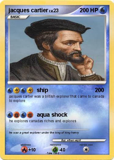 Pokémon jacques cartier 27 27 - ship - My Pokemon Card