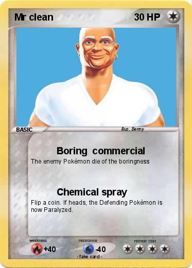pokemon mr clean