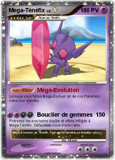 Pok mon mega tenefix m ga evolution ma carte pok mon - Tenefix evolution ...