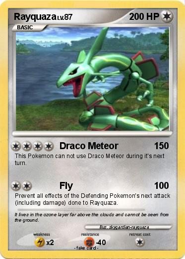 Pokemon D/P Draco Meteor - YouTube
