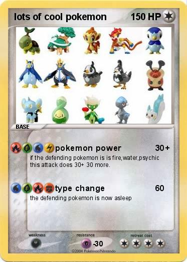 Pok 233 Mon Lots Of Cool Pokemon Pokemon Power My Pokemon Card