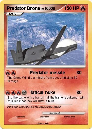 Pokemon Predator Drone