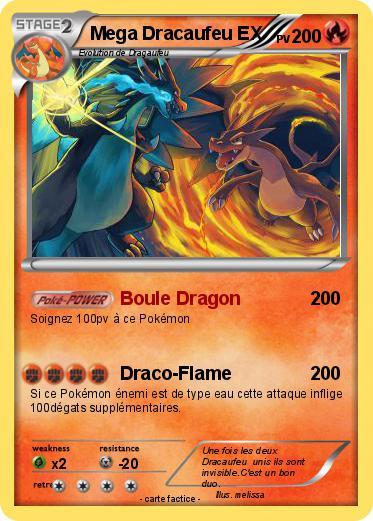 Pok mon mega dracaufeu ex 40 40 boule dragon ma carte - Pokemon dracaufeu ex ...