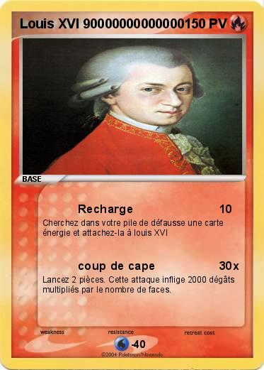 Pokémon Louis XVI 90000000000000 90000000000000 - Recharge - Ma ...