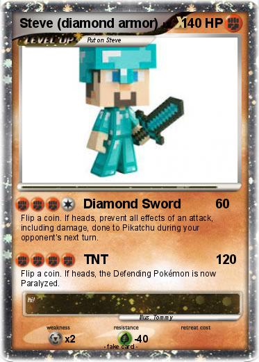 Pokemon Steve Diamond Armor