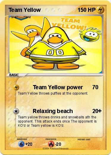 team yellow pokemon go