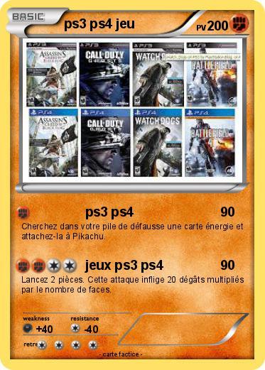 Pok mon ps3 ps4 jeu ps3 ps4 ma carte pok mon - Jeux info pokemon ...