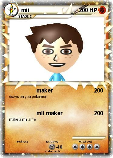 pokémon mii 149 149 maker my pokemon card