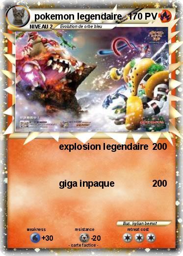 Pok mon pokemon legendaire 35 35 explosion legendaire ma carte pok mon - Dessin pokemon legendaire a imprimer gratuit ...