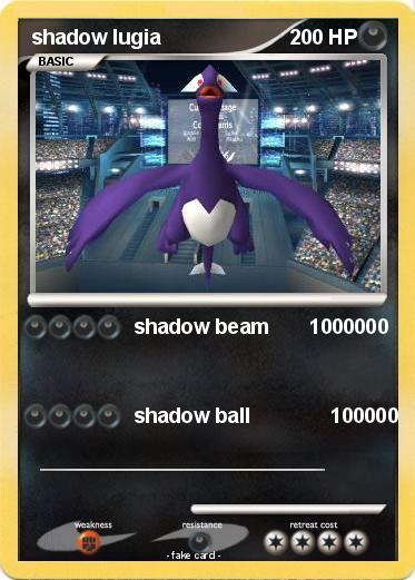 Pokémon shadow lugia 1522 1522 - shadow beam 1000000 - My ...