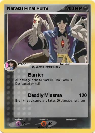 Pokémon Naraku Final Form 1 1 - Barrier - My Pokemon Card