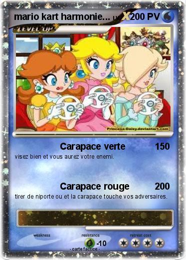 Pok mon mario kart harmonie carapace verte ma carte - Mario kart wii gratuit ...