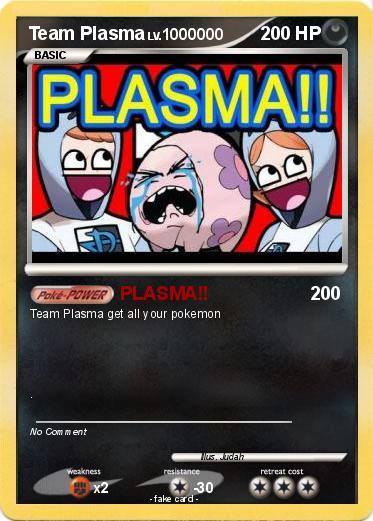 Pok mon team plasma 29 29 plasma my pokemon card - Carte pokemon team plasma ...