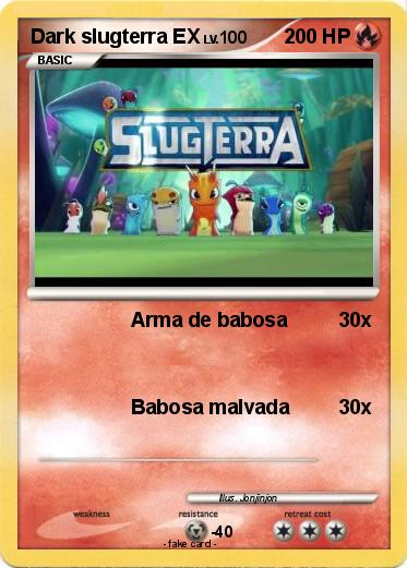 Pok 233 Mon Dark Slugterra Ex Arma De Babosa My Pokemon Card