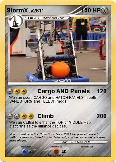 Pokémon StormX - Cargo AND Panels - My Pokemon Card