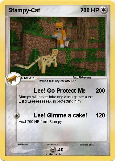 Pok mon stampy cat 39 39 lee go protect me my pokemon - Poster pokemon a imprimer ...