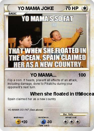 Pokemon YO MAMA JOKE