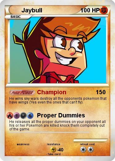 Pokémon Jaybull 1 1