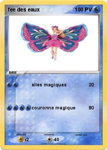 Pok mon fee des eaux ailes magiques ma carte pok mon - Carte pokemon fee ...