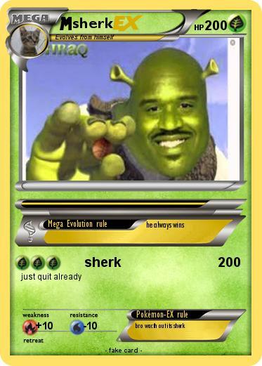 pokémon sherk 23 23 sherk my pokemon card