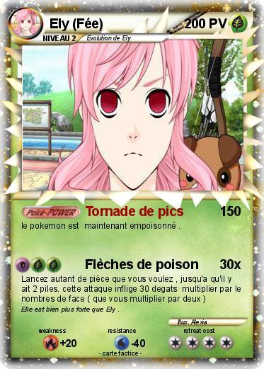 Pok mon ely fee tornade de pics ma carte pok mon - Carte pokemon fee ...