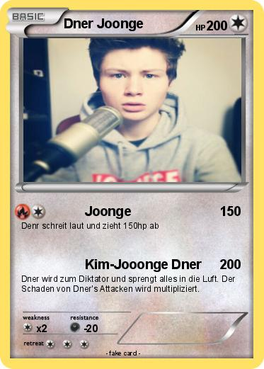 Dner joonge  Pokémon Dner Joonge - Joonge - My Pokemon Card