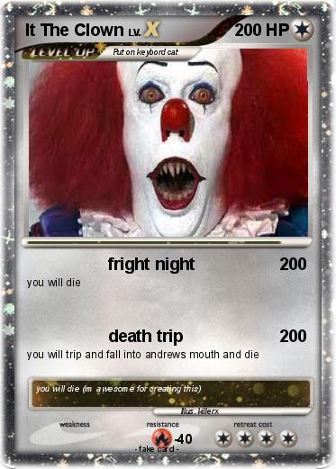 Pok 233 Mon It The Clown 3 3 Fright Night My Pokemon Card