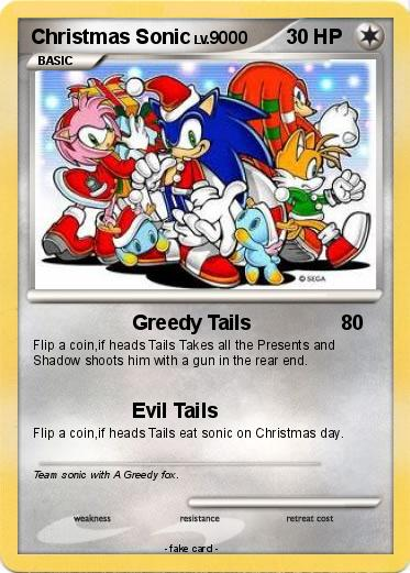 pokemon christmas sonic - Sonic Hours Christmas Day