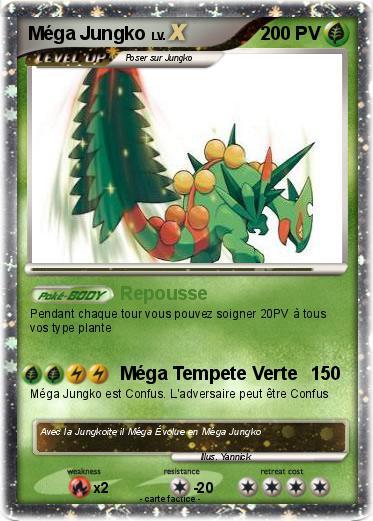 Pok mon mega jungko 4 4 repousse ma carte pok mon - Mega jungko ex ...