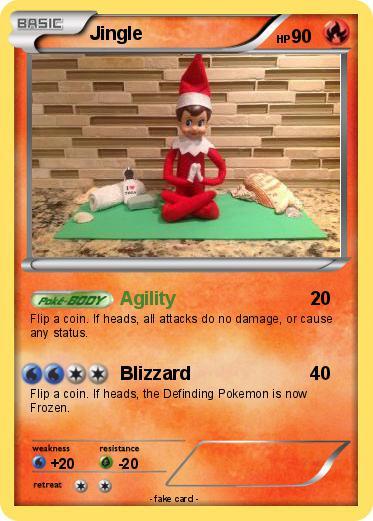 Pokémon Jingle 15 15 - Agility - My Pokemon Card