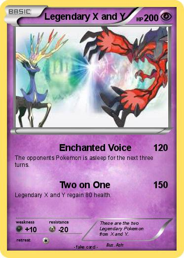 Pokémon Legendary X and Y 1 1 - Enchanted Voice - My ...