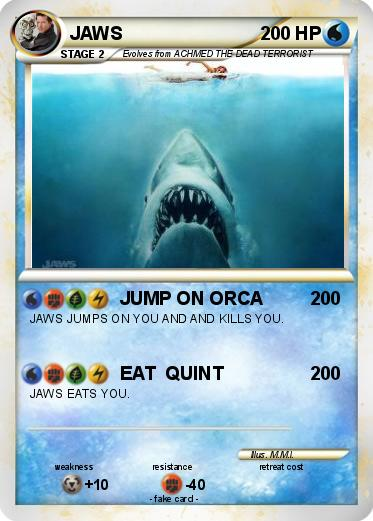 Pokémon JAWS 147 147 - JUMP ON ORCA - My Pokemon Card