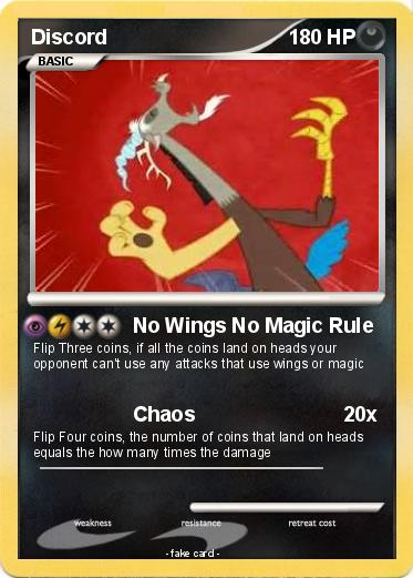 pokémon discord 31 31 no wings no magic rule my pokemon card