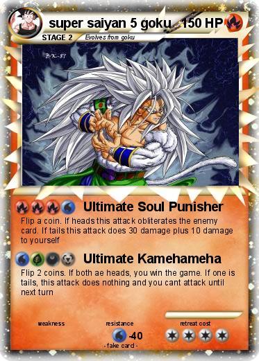 pokémon super saiyan 5 goku 2 2 ultimate soul punisher my