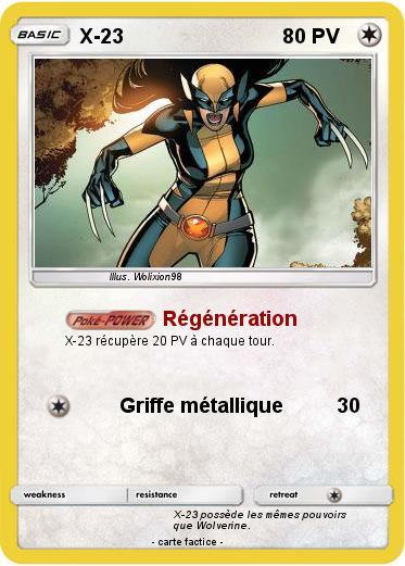 Pok mon x 23 9 9 r g n ration ma carte pok mon - Elector pokemon x ...