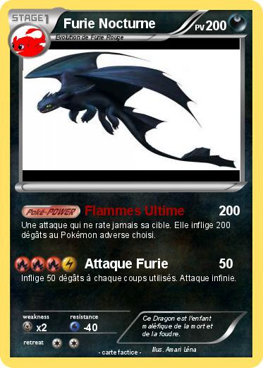 Pok mon furie nocturne 54 54 flammes ultime ma carte - Fury nocturne ...